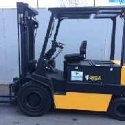 FORKLIFT FRONT ELECTRIC OM MOD. E50N USED