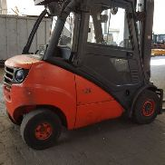 Linde H30D // HH 5940 mm / side slide / air conditioning
