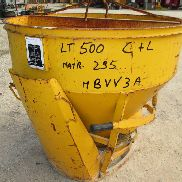 Central / side discharge bucket lt.500 VALLOGGIA