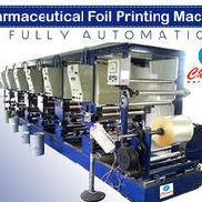 Pharmaceutical Foil Printing Machine Fully Automatic