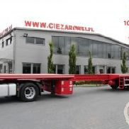 3 AXLE EXTENDABLE LOW LOADER PLATFORM HRD
