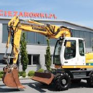 WHEEL EXCAVATOR LIEBHERR A316 OFFSET ARM