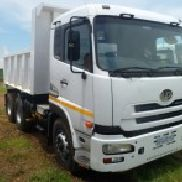 2013 Nissan UD390 10cube Tipper Truck