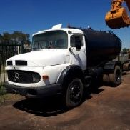 Mercedes Benz Bullnose with Water Tanker