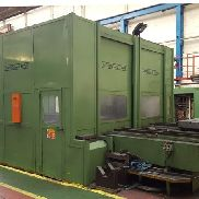 Giddings & Lewis MC 50 Twin Pallet Horizontal Boring and Milling Machine with Giddings and Lewis CNC 8000B Control