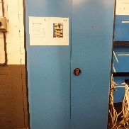 Cupboard with Qty of Welding Rods