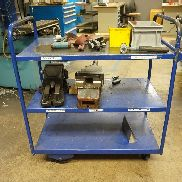Mobile Trolley with (2) x 160mm Machine Vices
