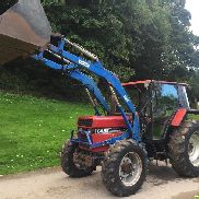 CASE IH 844 XLN TRACTOR WITH TANCO LOADER