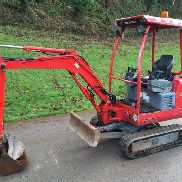 2013 TAKEUCHI TB016 MINI DIGGER