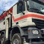 2008 Mercedes-Benz Actros 5150 with Schwing Concrete Pump 52m
