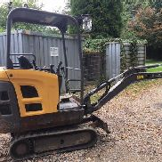 1 Minibagger Volvo EC 15C for sale