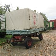 1 2-axle transport trailer