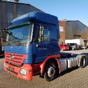 1 tractor unit Mercedes-Benz Actros 1844LS (4x2) tipping hydraulics (2x auxiliary drive)