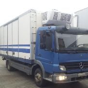 1 truck Mercedes-Benz Atego 1018 cooling body