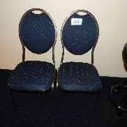 2 pieces of gastronomy / casino chairs