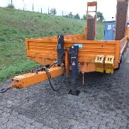 1 tandem low loader trailer Blomenröhr 682/13800