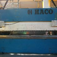 HACO PRESS BRAKE 3MX75T - Gebrauchte Maschine # 590