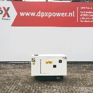 Lister Petter LWA15A - 15 kVA Generator - DPX-25003