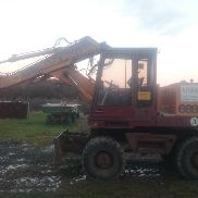 Case wheeled excavator 688 PM2 8,200 operating hours good condition