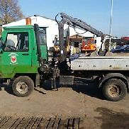 Multicar M25 tipper with loading arm TÜV - 11.2017, DIY vehicle, spare parts dispenser
