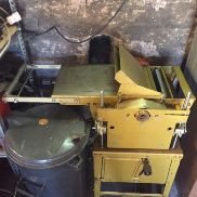 Scheppach Prima HM 2 planing machine as well as TKU circular saw for sale