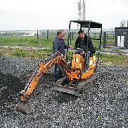 Hanix Kubota H08B Minibagger identical Bobcat 316 Excavator Microbag TOP condition