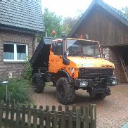 Mercedes Benz Unimog U1200 Type 424 Snow Shield Schmidt E 2.2