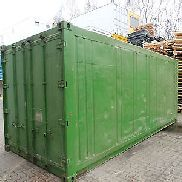Kühlcontainer, isolierter Lagercontainer,  Baucontainer, Isoliercontainer