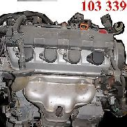 Complete engine 1.7VTEC 92kW / 125PS D17A9 HONDA CIVIC 2001-2005 103339km EM2 COUPE