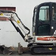Bobcat 428 Mini Hydraulic Excavator rubber track Auxiliary hydraulics Lighting