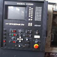 Index GE 42 CNC Lathe Machine Machine Tool Control C 200 Turning