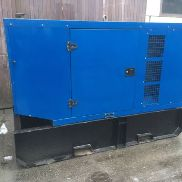 Sdmo J110 Sound-proof generator Electric generator 100kva Year 2008 5841w