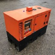 Europower Eps11en Soundproof Electric Generator 11kva 8Kw Bj2010 Diesel Kubota