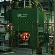 Double Column Hydraulic Press STEINER DHP 800, table 1550 x 1450 mm, 800 tons
