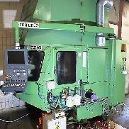 CNC vertical machining center CHIRON DZ NEW CONTROL 16 double spindle # 3436