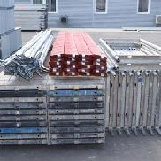 136.21 m² cheap used scaffolding with Aluböden Layher Alfix MJ (131060)