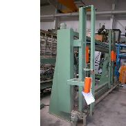 15651 Hess Frame press used Hydro-Lux electrohydraulic