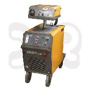 REHM MAG MegaPuls welding machine RMP 450 (used) with burner, ground cable, etc.