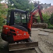 Minibagger Kubota KX 71 BJ: 2014 with 1480 operating hours