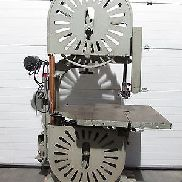 solid band saw with 750mm wheel diameter, cutting width 730mm