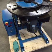 Welding turntable Protec KT 500 manipulator turntable 100 mm passage