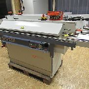 obsolete Edgebander Hebrock TOP 2000, built in 2006, glue pot