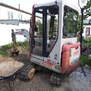 Mini digger Takeuchi TB015