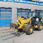 Wheel loaders, Skid steer loaders with shovel and forks, Cat 906 M, Caterpillar