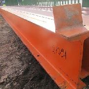10m I 280 Double T-beam steel beam crane track crane bridge DIN 1025-1 # 21391
