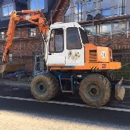 Caesar Type 1504 Wheel excavator with cabin, spoon, 12,5to, overdrive