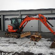 KUBOTA KX057-4 YEAR 2011 GRABS LEAD UVV SPOON PACKAGE QUICKHITCH VAT