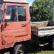Multicar M25, year 1979, three-way tipper