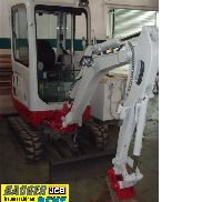 Compact Excavator Takeuchi TB 216 Minibagger Bj.2014 ca Operating hours 600