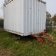 10 fuss Magazincontainer Lagercontainer ,Container, auf Fahrgestell